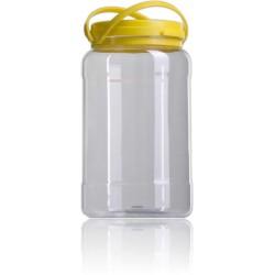 Garrafa plastico con tapa