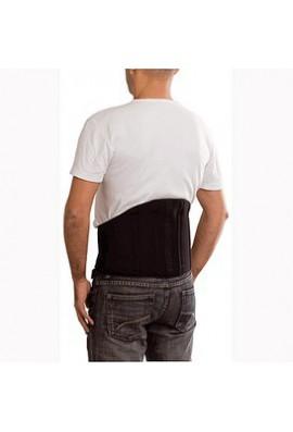 Faja lumbar dorsal Sport V elástica