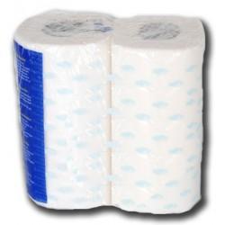 Papel higiénico doble capa 4 rollos