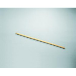 Mango cepillo madera c/rosca 28 mm 1.20 mt