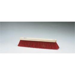 Cepillo barrendero fibra roja 61 cm p/garra