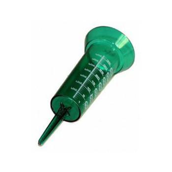 Pluviometro medidor plastico