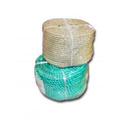 Cuerda plastico colores surtidos rollo 40 mt