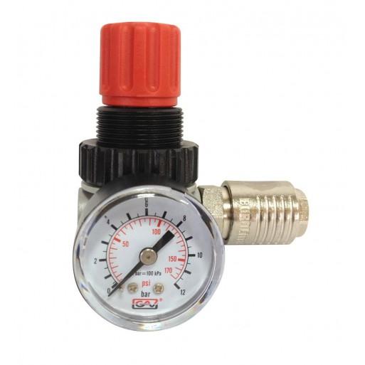 Regulador de presion para compresor