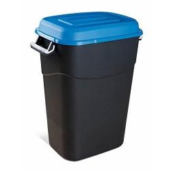 Cubo basura plastico c/tapa...