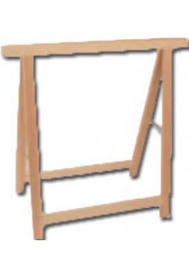 Caballete de madera plegable profesional