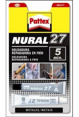 Pattex Nural 27 (soldadura en frio rápida)