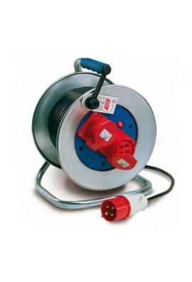 Extensible electrico con soporte y carrete metalico