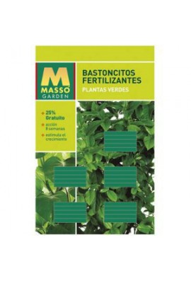 Abono barritas fertilizantes plantas flor