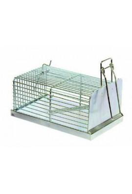 Trampa cincada para ratas rectangular