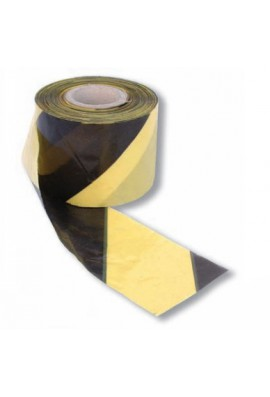 Banda de señalicacion negra/amarilla