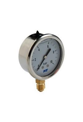 Manómetro DN 63 mm con glicerina