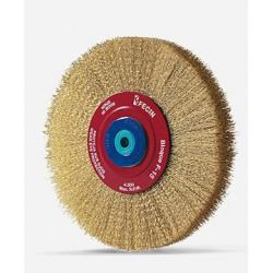 Cepillo metálico circular
